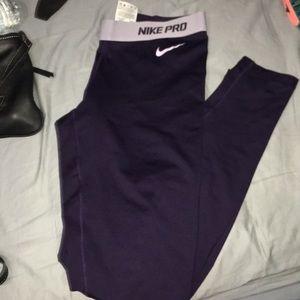 Pretty Purple Nike Leggings